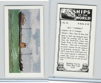 "R0-0 Reddings Tea, Ships Of The World, 1963, #19 M.V. ""Corsea"""