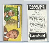 L0-0 Lyons Maid, Famous People, 1966, #27 Tony Hancock