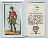 A0-0 ABC Minors, British Soldiers, 1949, #10 Cumberland's Dragoons