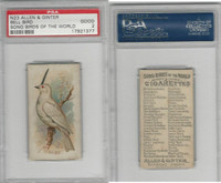 N23 Allen & Ginter, Song Birds of the World, 1890, Bell Bird, PSA 2 Good