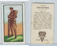 A0-0 ABC Minors, British Soldiers, 1949, #20 Lancashire Fusiliers
