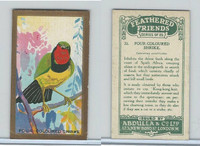 A5-14 Abdulla, Feathered Friends, 1935, #22 Four Coloured Shrike