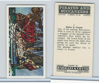B0-0 Barratt, Pirates & Buccaneers, 1960, #3 Pierre Le Grand