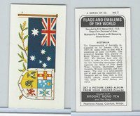 B0-0 Brooke Bond Tea, Flags & Emblems, 1973, #3 Australia