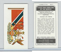 B0-0 Brooke Bond Tea, Flags & Emblems, 1973, #15 Trindad & Tobago
