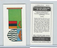 B0-0 Brooke Bond Tea, Flags & Emblems, 1973, #20 Zambia