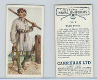 C18-56 Carreras, History Naval Uniforms, 1937, #2 Tudor Period