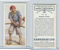 C18-56 Carreras, History Naval Uniforms, 1937, #10 Seaman of 1690