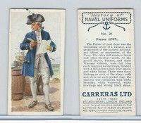 C18-56 Carreras, History Naval Uniforms, 1937, #21 Purser (1787)