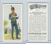 C18-55 Carreras, History Army Uniforms, 1937, #11 18th Hussars (1869)