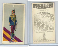 U10-3 U.K. Tobacco, Officers Full Dress, 1936, #11 11th Hussars