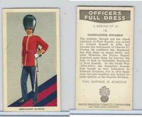 U10-3 U.K. Tobacco, Officers Full Dress, 1936, #18 Grenadier Guards