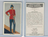 U10-3 U.K. Tobacco, Officers Full Dress, 1936, #24 The Buffs