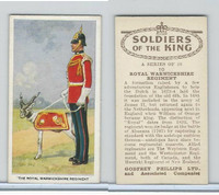 P50-125 Phillips, Soldiers Of The King, 1939, #10 Royal Warwickshire