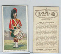 P50-125 Phillips, Soldiers Of The King, 1939, #11 The Black Watch