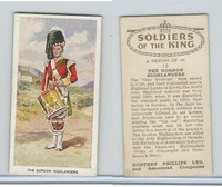 P50-125 Phillips, Soldiers Of The King, 1939, #13 Gordon Highlanders