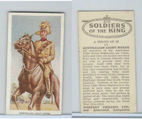 P50-125 Phillips, Soldiers Of The King, 1939, #17 Australian Light Horse