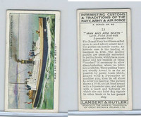 L8-55 Lambert, Interesting Customs, 1939, #15 Man & Arm Boats