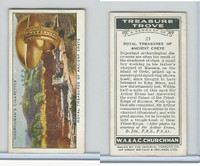 C82-85 Churchman, Treasure Trove, 1937, #25 Treasures Ancient Crete