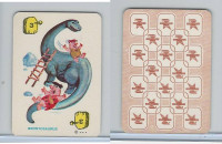 1967 Ed-U Cards, Flintstones Mini Card, #3 Brontosaurus, Yellow