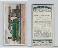 C30 Imperial Tobacco, Railway Engines, 1923, #1 Great Western Railway