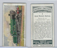 C30 Imperial Tobacco, Railway Engines, 1923, #2 Great Western Railway