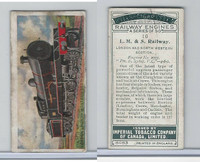 C30 Imperial Tobacco, Railway Engines, 1923, #10 LM & S Railway