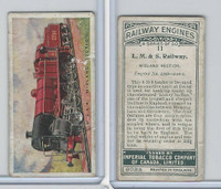 C30 Imperial Tobacco, Railway Engines, 1923, #11 LM & S Railway