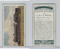 C30 Imperial Tobacco, Railway Engines, 1923, #13 L & NE Railway