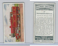 C30 Imperial Tobacco, Railway Engines, 1923, #20 Metropolitan Railway