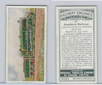 C30 Imperial Tobacco, Railway Engines, 1923, #22 Southern Railway