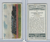 C30 Imperial Tobacco, Railway Engines, 1923, #26 Canadian National