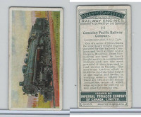 C30 Imperial Tobacco, Railway Engines, 1923, #28 Canadian Pacific