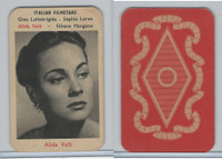 V413 Maple Leaf, Filmset, 1953, Alida Valli