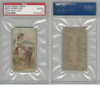 N232 Kinney, Surf Beauties, 1889, Bar Harbor, ME, PSA 2 Good