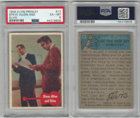 1956 Bubbles Inc, Elvis Presley, #13 Steve Allen And Elvis, PSA 6 EXMT