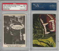 1965 Donruss, King Kong, #28 She's Expecting Me On, PSA 8 NMMT