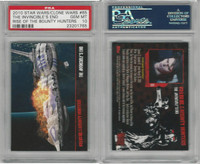 2010 Topps, Star Wars, Clone Wars, #65 Invincibles End, PSA 10 Gem