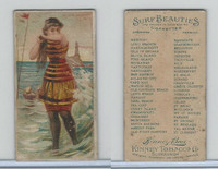 N232 Kinney, Surf Beauties, 1889, Block Island, RI
