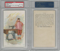 H639 Singer Sewing, Costumes of all Nations, 1892, Tunis Female, PSA 6 EXMT