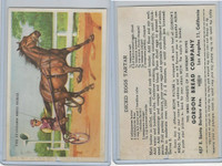 D39-5, Gordon Bread, Recipe - Horses, 1948, Standard Breed Horse