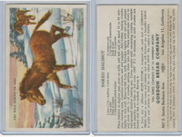 D39-5, Gordon Bread, Recipe - Horses, 1948, Wild Horses of Asia