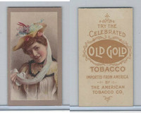 T400 American Tobacco, Actresses, 1910, (2) Old Gold