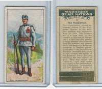 C82-86 Churchman, Warriors All Nations, 1931, #12 Hungarian