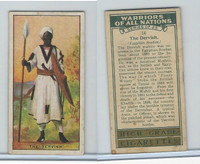 C82-86 Churchman, Warriors All Nations, 1931, #14 Dervish