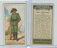 C82-86 Churchman, Warriors All Nations, 1931, #20 Bersaglieri, Italy
