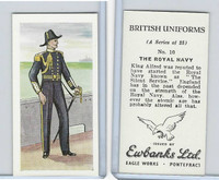 E0-0 Ewbanks, British Uniforms, 1957, #10 The Royal Navy