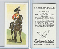 E0-0 Ewbanks, British Uniforms, 1957, #12 The King's Dragoon Guards