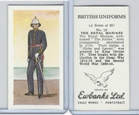 E0-0 Ewbanks, British Uniforms, 1957, #13 The Royal Marines