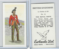E0-0 Ewbanks, British Uniforms, 1957, #14 The Royal Scots